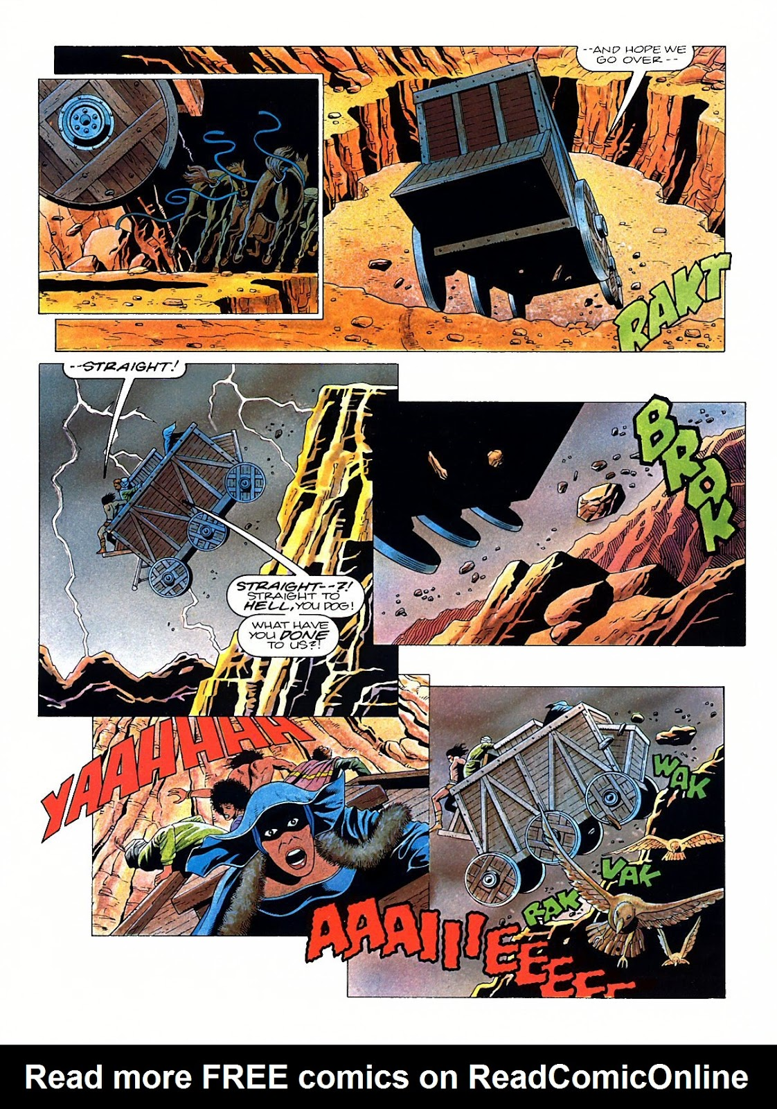Read online Marvel Graphic Novel: Conan the Barbarian: The Skull of Set comic -  Issue # Full - 28
