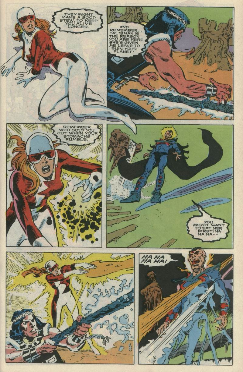 Read online Alpha Flight (1983) comic -  Issue #72 - 21