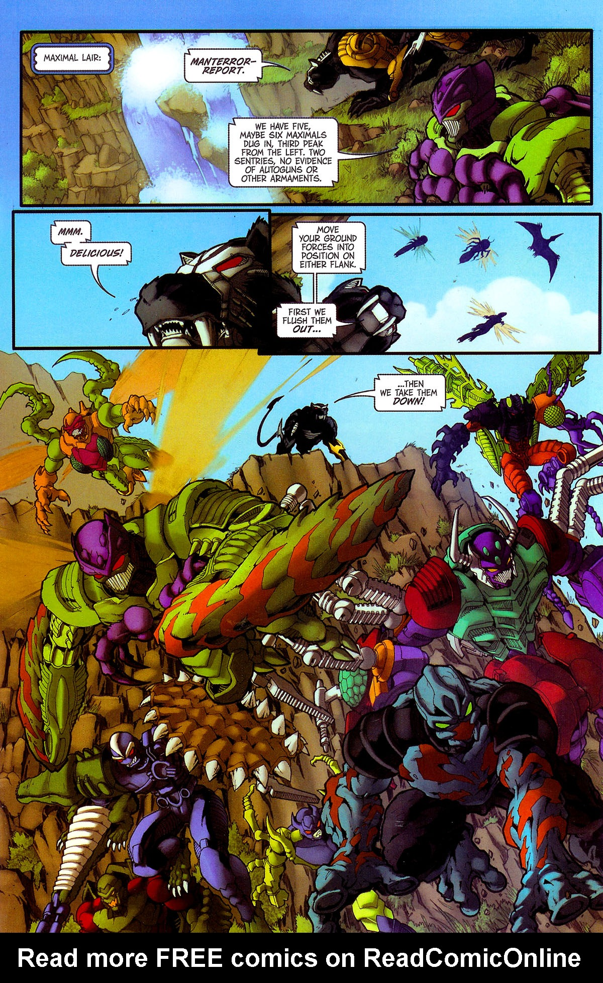 Read online Transformers, Beast Wars: The Gathering comic -  Issue #4 - 14