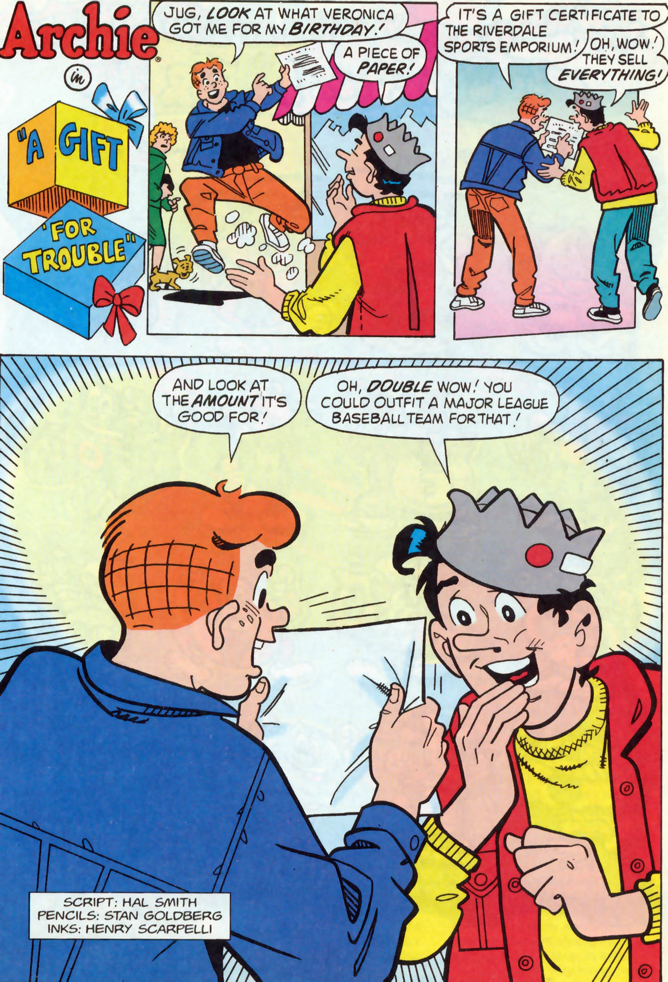 Read online Archie (1960) comic -  Issue #466 - 14