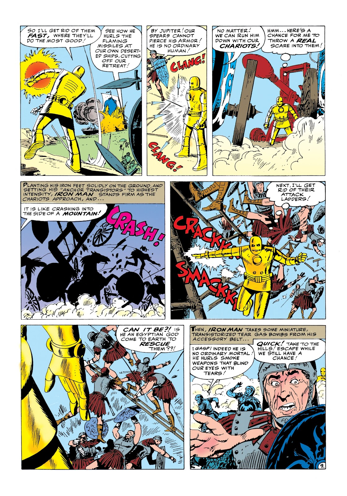 Read online Marvel Masterworks: The Invincible Iron Man comic -  Issue # TPB 1 (Part 1) - 82