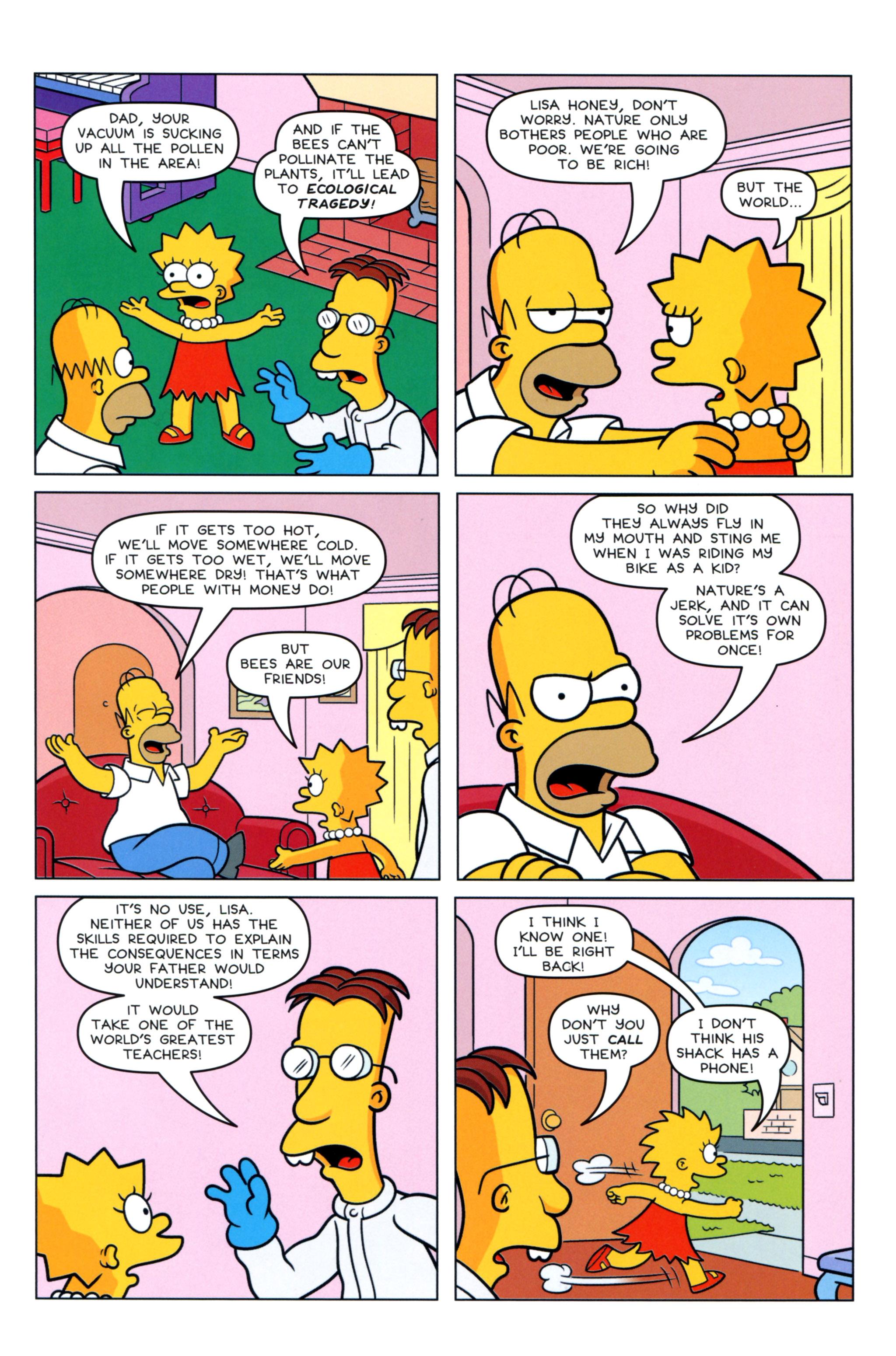 Read online Simpsons Comics comic -  Issue #217 - 23