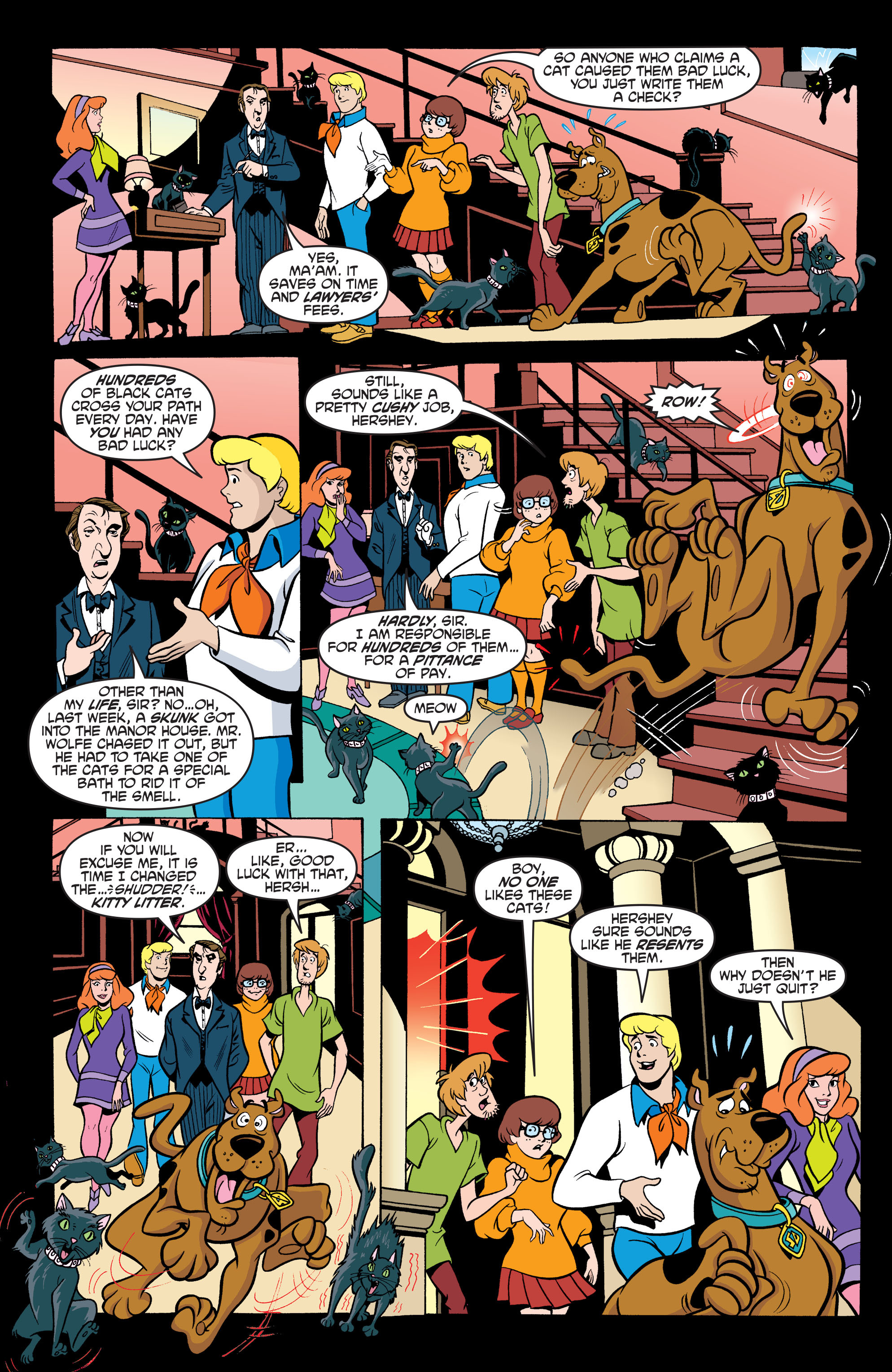 Read online Scooby-Doo: Where Are You? comic -  Issue #63 - 17