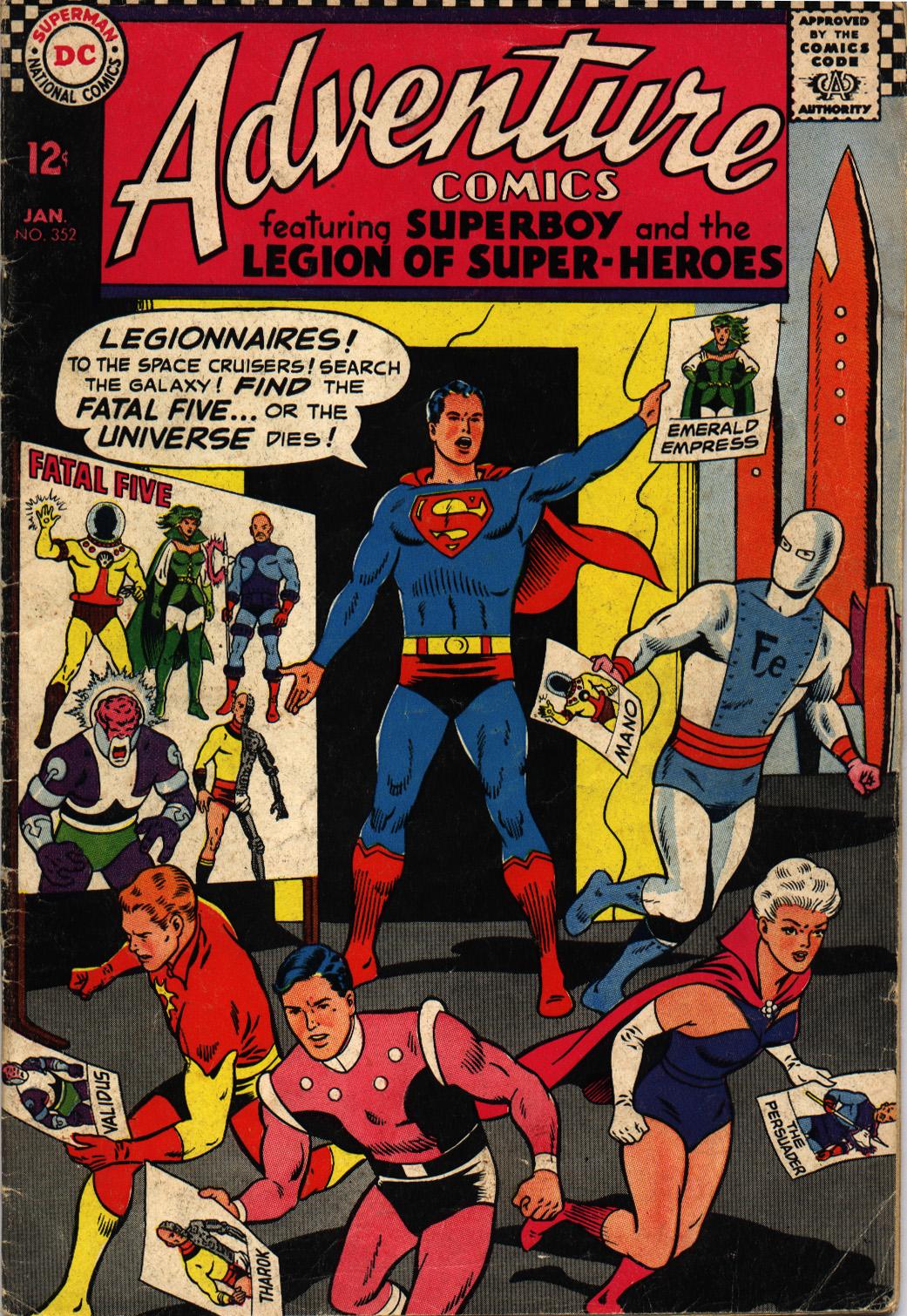 Read online Adventure Comics (1938) comic -  Issue #352 - 1