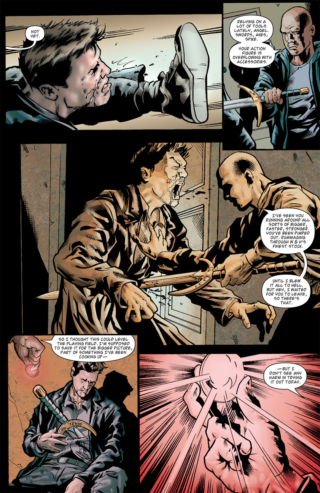Read online Angel: After The Fall comic -  Issue #11 - 21