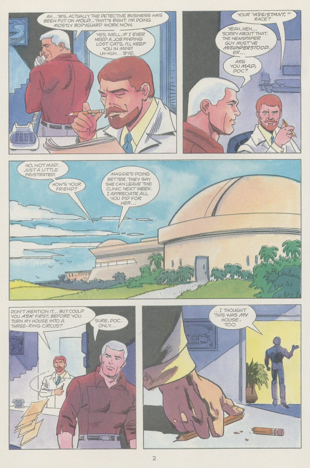 Jonny Quest (1986) issue 19 - Page 4
