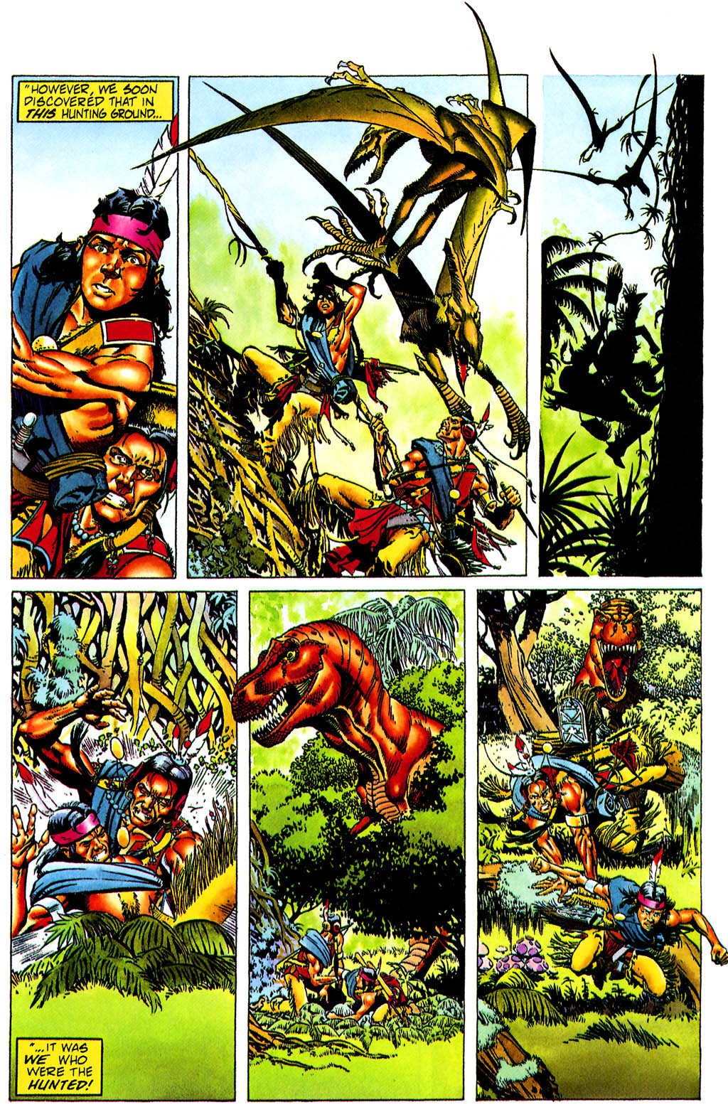 Read online Turok, Dinosaur Hunter (1993) comic -  Issue #0 - 17