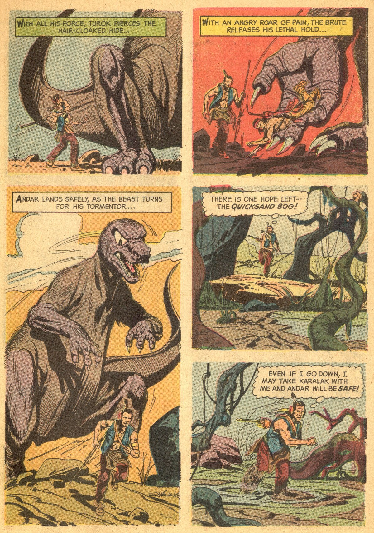 Read online Turok, Son of Stone comic -  Issue #46 - 31