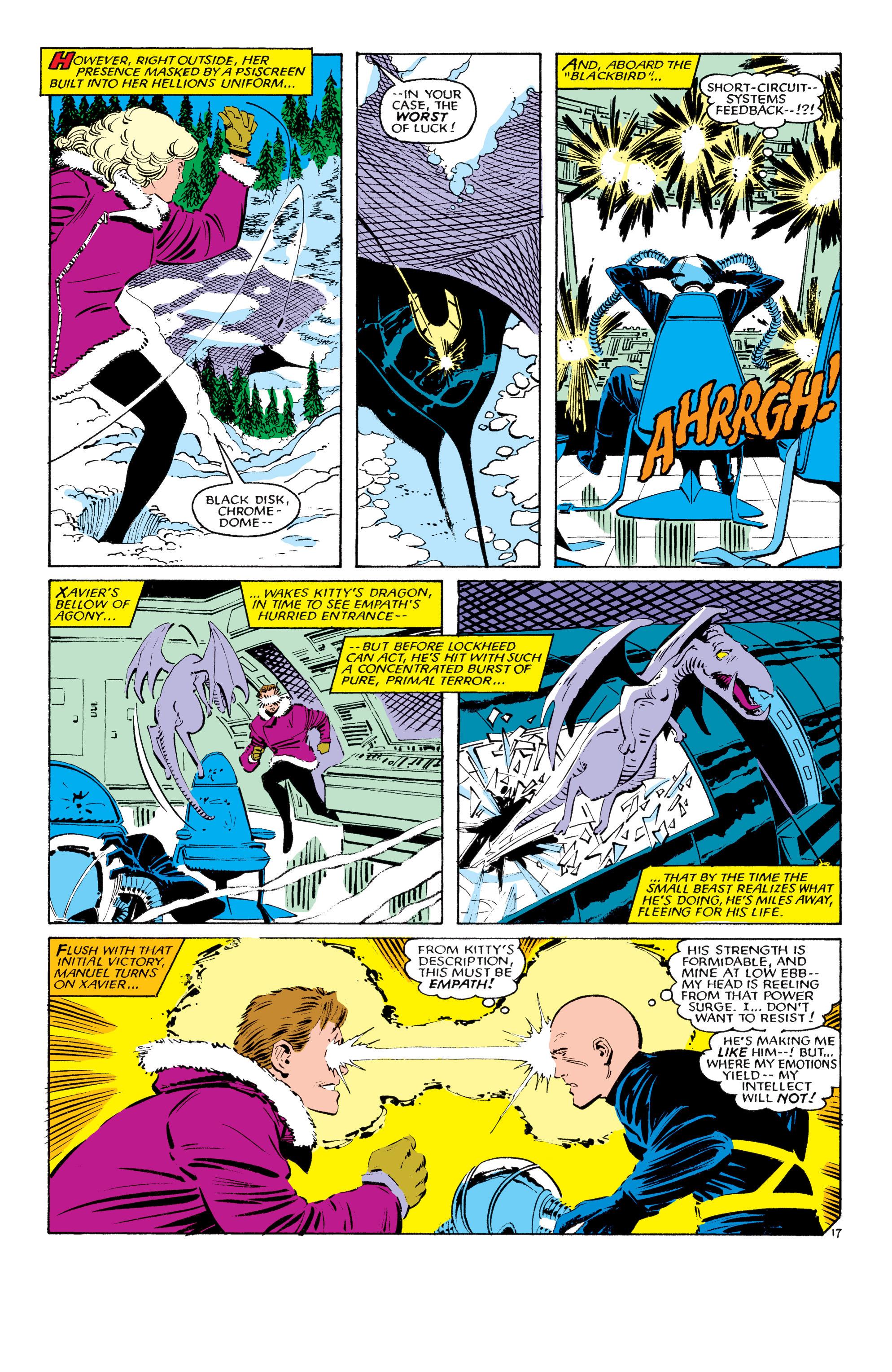 Read online Uncanny X-Men (1963) comic -  Issue #193 - 18