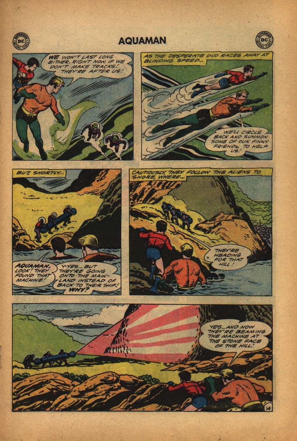 Read online Aquaman (1962) comic -  Issue #4 - 19