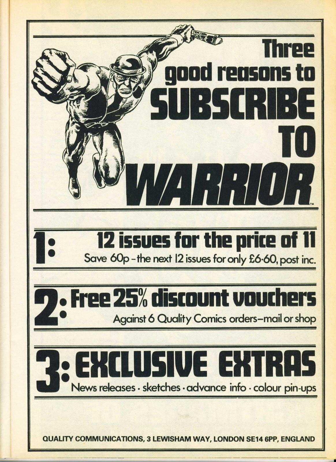 Warrior Issue #14 #15 - English 11