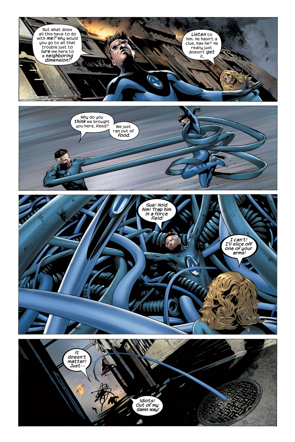 Read online Ultimate Fantastic Four (2004) comic -  Issue #22 - 6