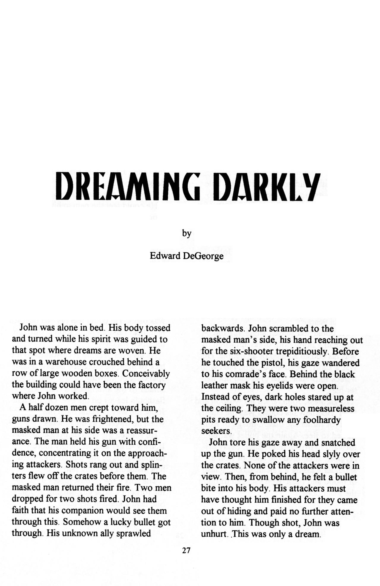 Read online Dr. Weird (1997) comic -  Issue #1 - 29
