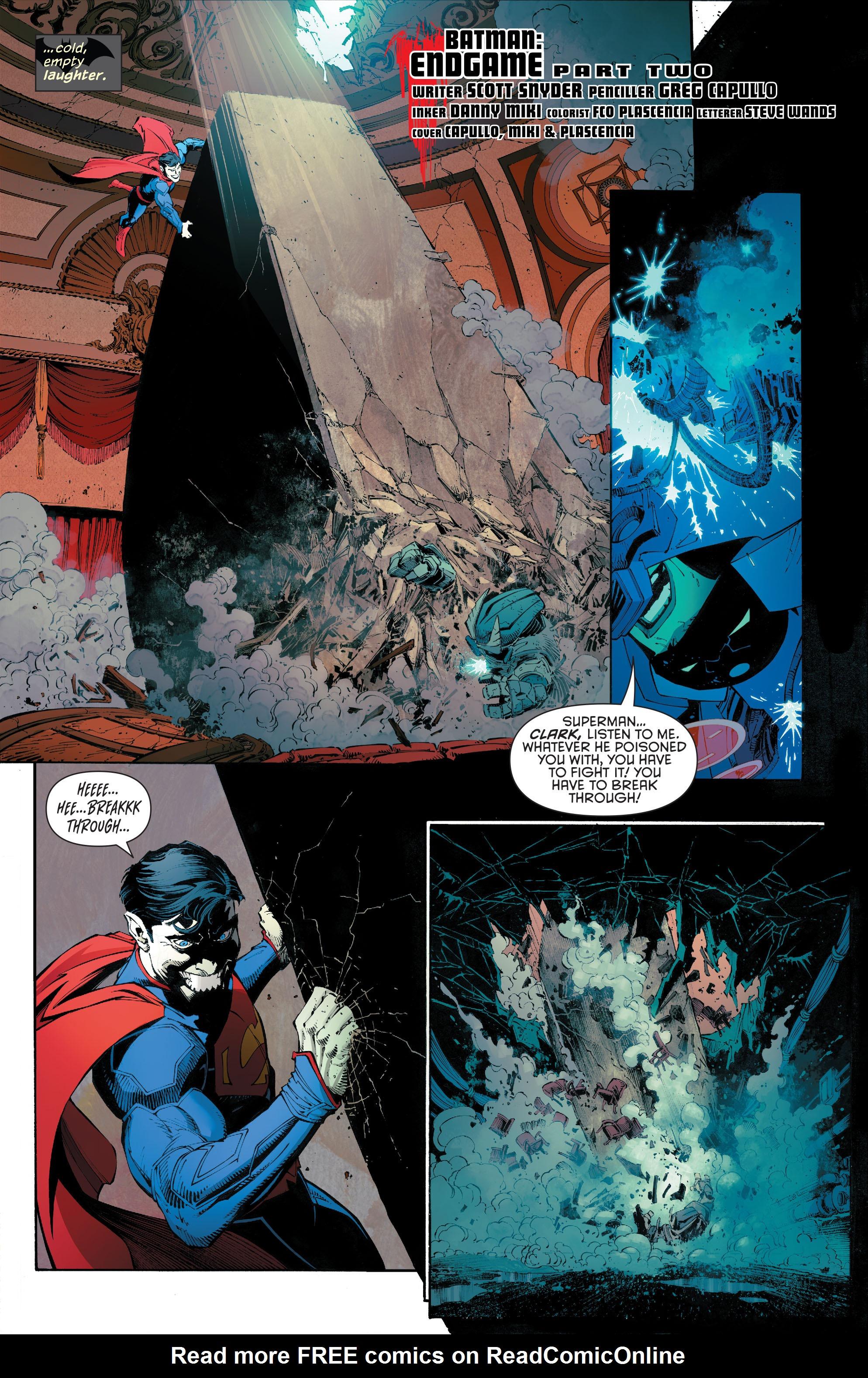 Read online Batman (2011) comic -  Issue # _TPB 7 - 32