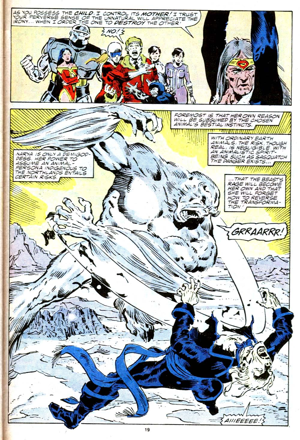 Read online Alpha Flight (1983) comic -  Issue #38 - 20