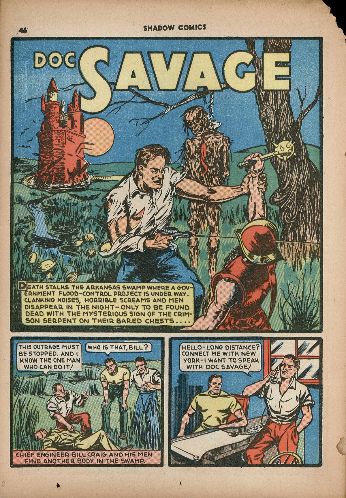 Read online Shadow Comics comic -  Issue #2 - 49