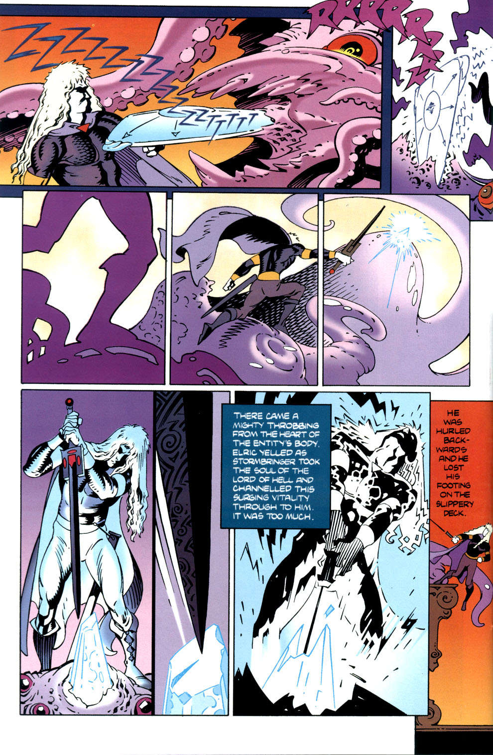 Read online Elric: Stormbringer comic -  Issue #5 - 26