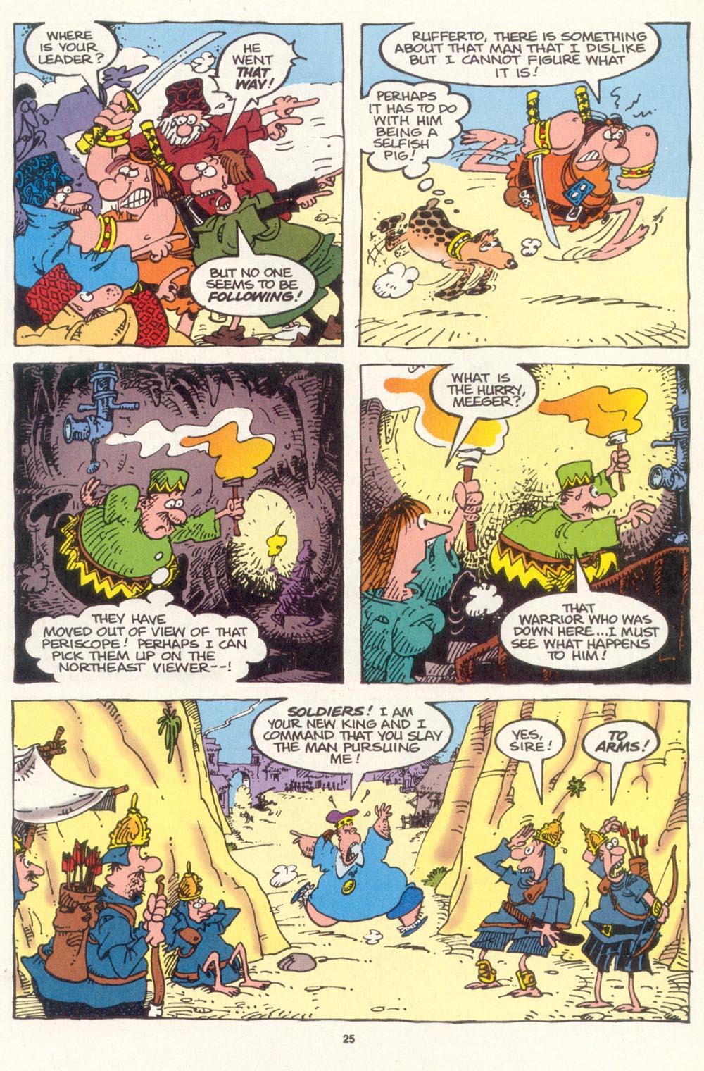 Read online Sergio Aragonés Groo the Wanderer comic -  Issue #119 - 26