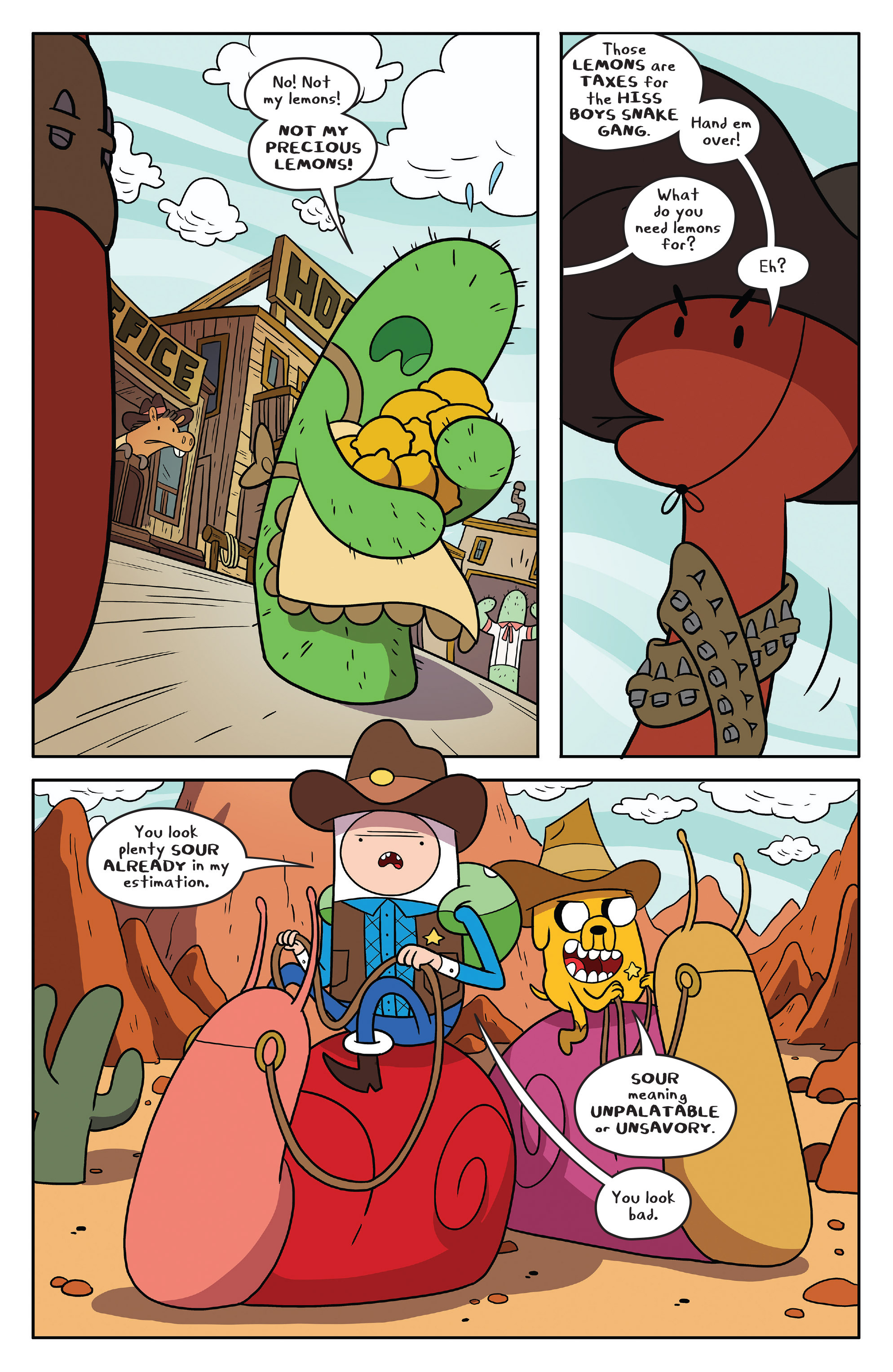 Read online Adventure Time comic -  Issue #54 - 9
