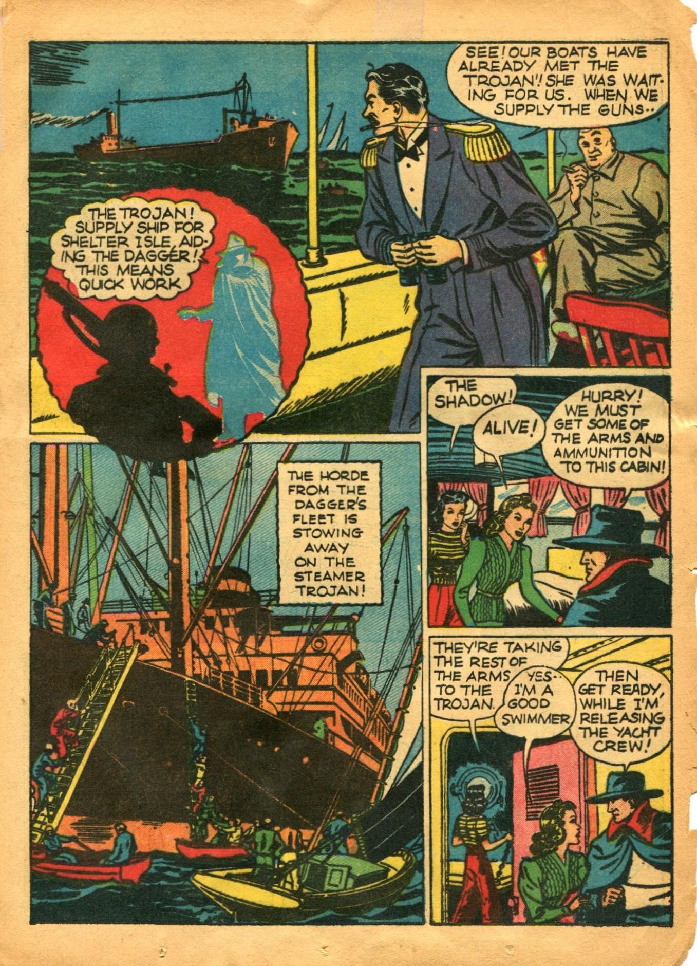 Read online Shadow Comics comic -  Issue #12 - 25