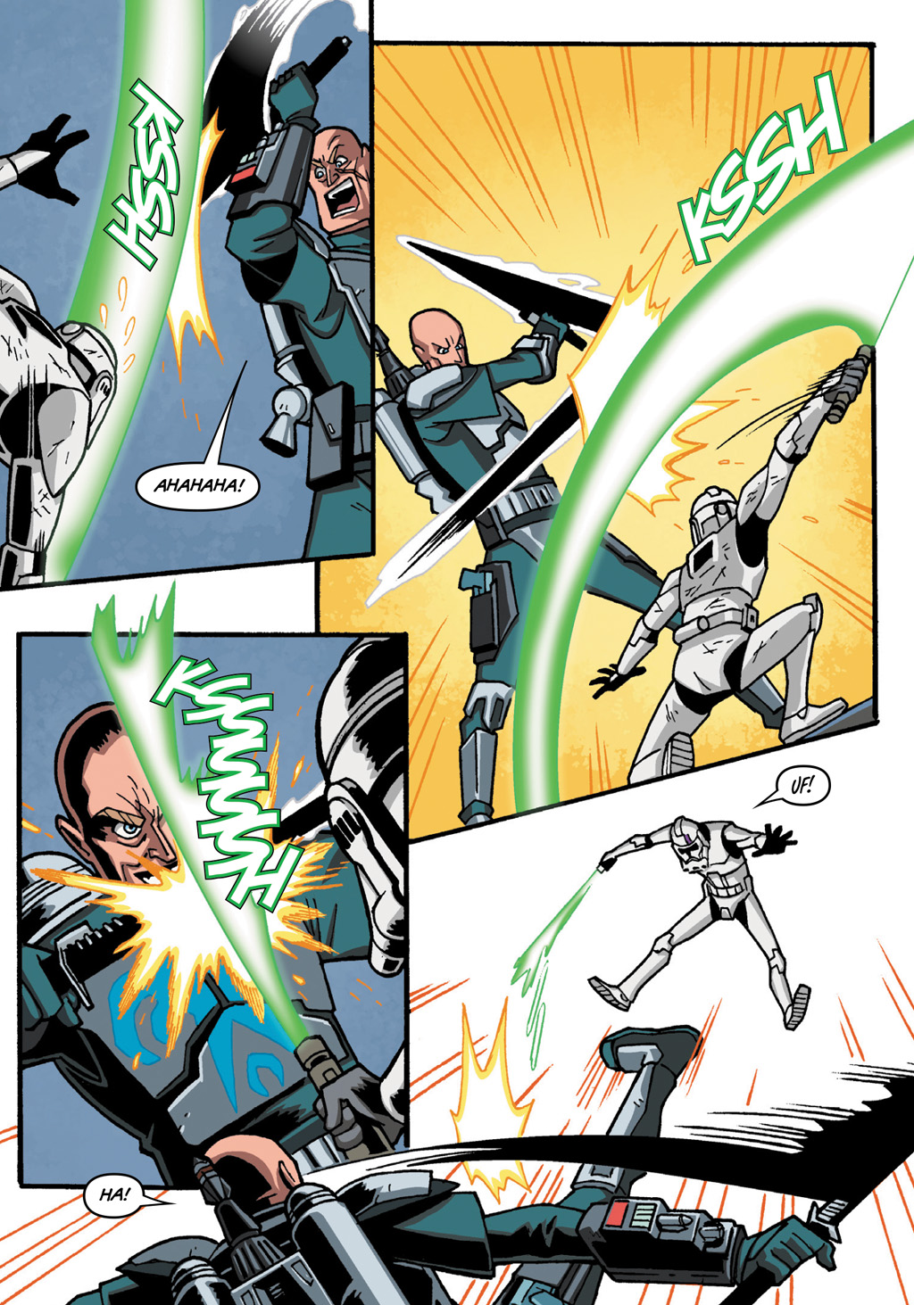 Read online Star Wars: The Clone Wars - Defenders of the Lost Temple comic -  Issue # Full - 59