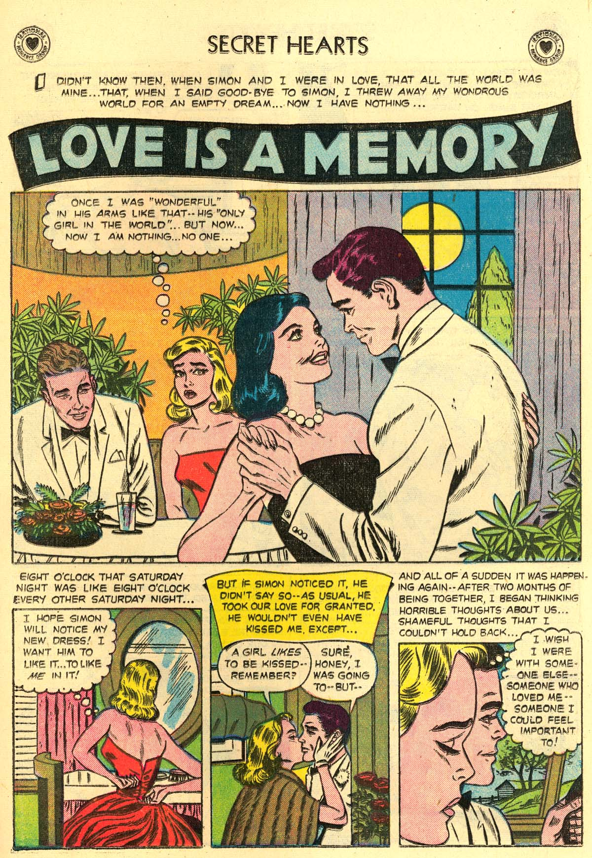 Read online Secret Hearts comic -  Issue #43 - 17