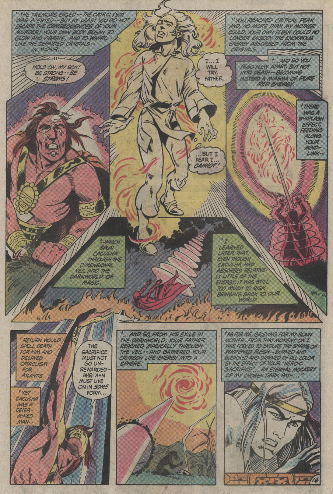 Read online Arion, Lord of Atlantis comic -  Issue #4 - 16