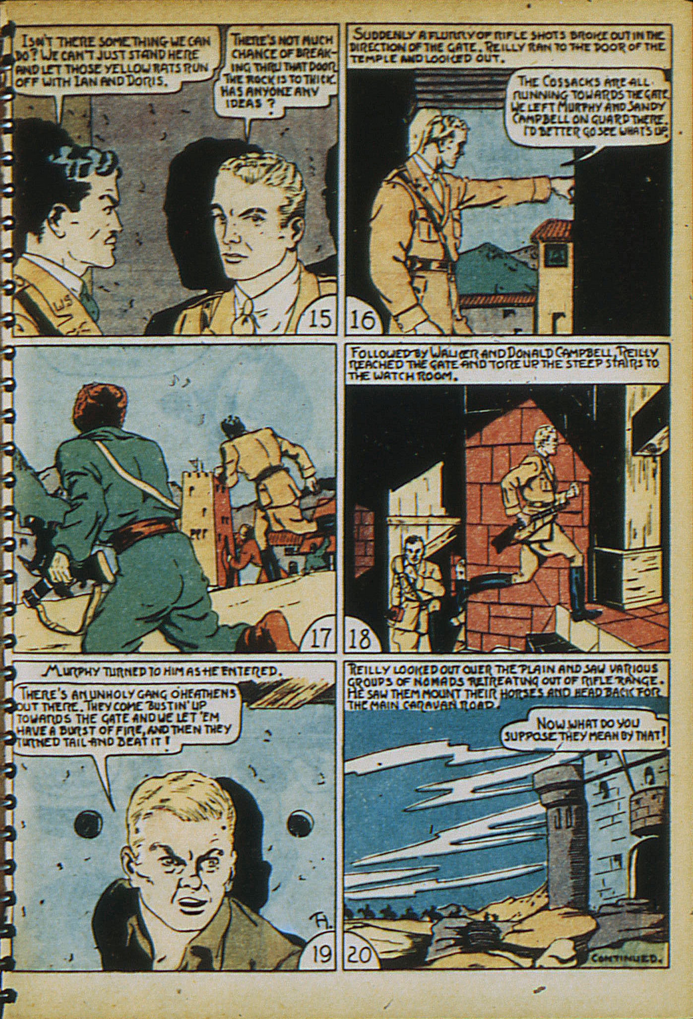 Read online Adventure Comics (1938) comic -  Issue #21 - 10