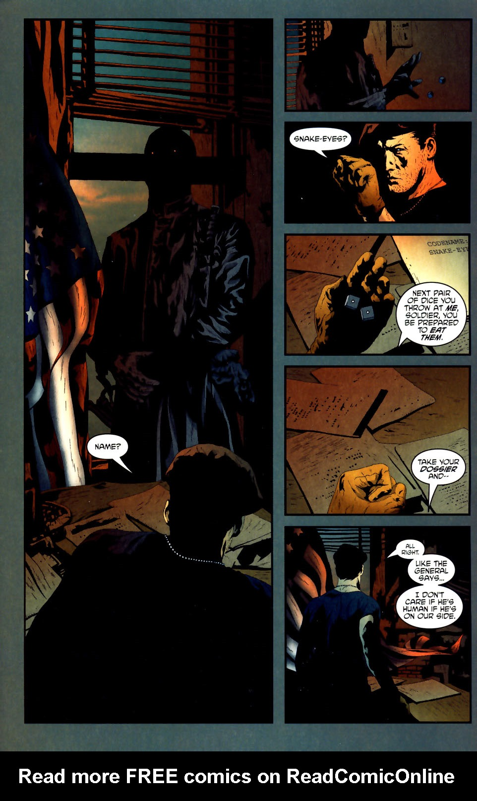 Read online Transformers/G.I. Joe comic -  Issue #1 - 8
