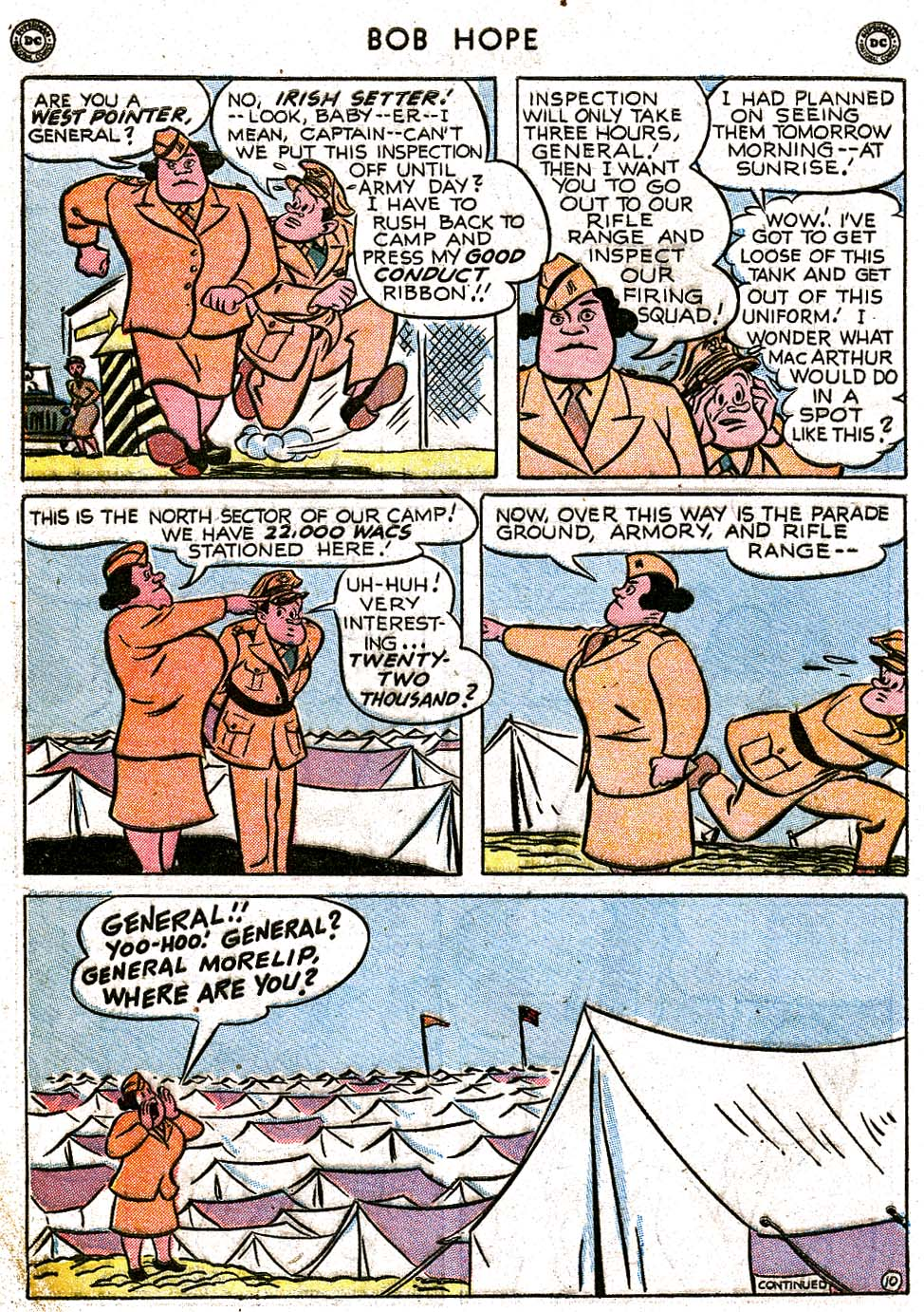 The Adventures of Bob Hope issue 8 - Page 12