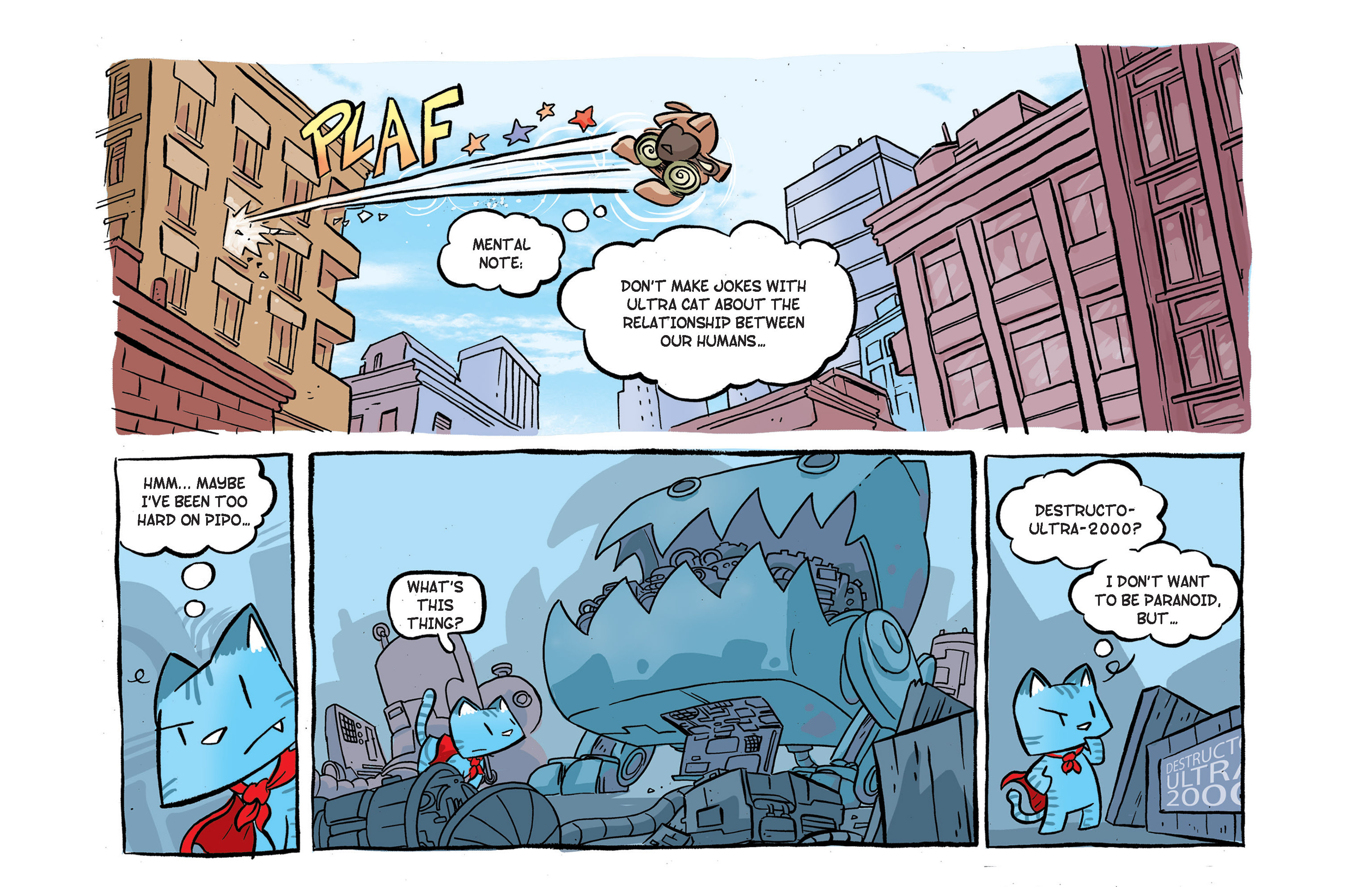 Read online Ultracat comic -  Issue #2 - 17