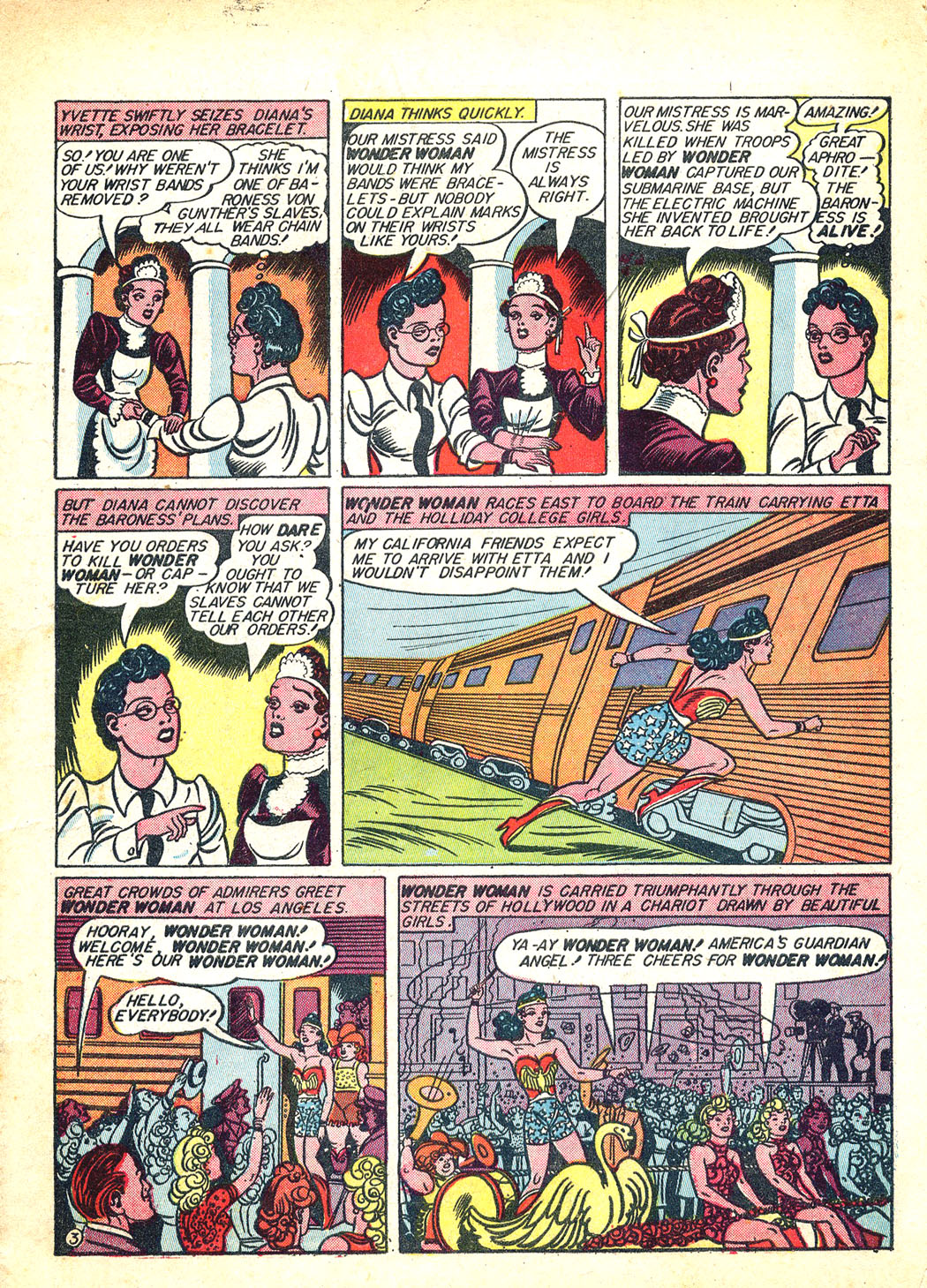 Read online Sensation (Mystery) Comics comic -  Issue #12 - 5