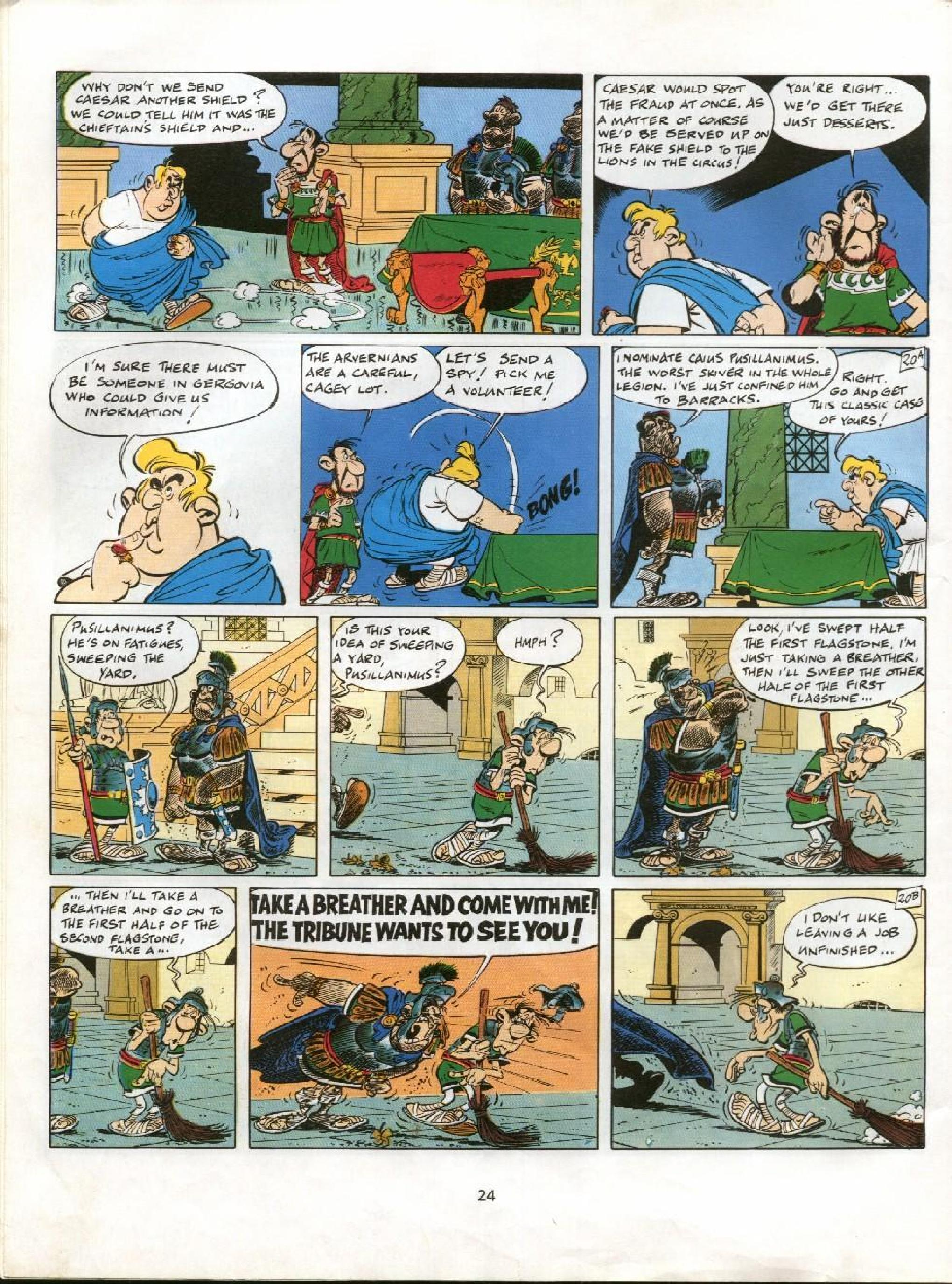 Read online Asterix comic -  Issue #11 - 21