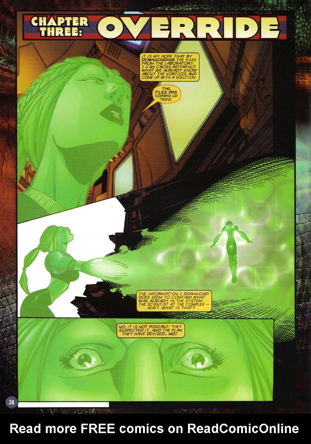 Read online Turok 2: Adon's Curse comic -  Issue # Full - 25