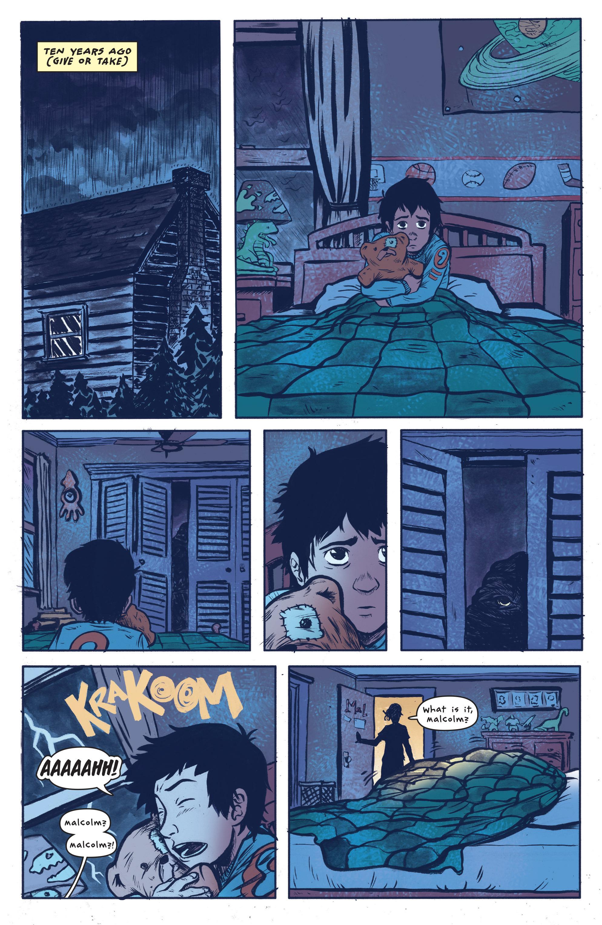 Read online UFOlogy comic -  Issue #4 - 3