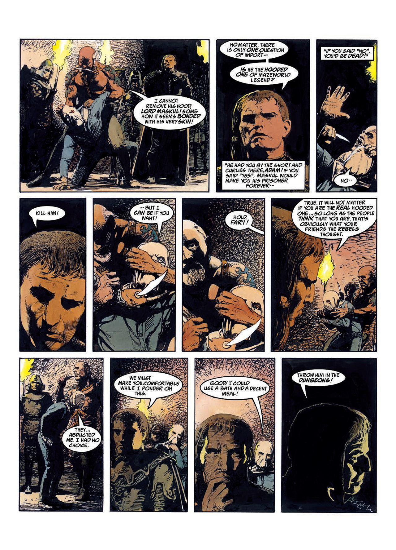 Read online Mazeworld comic -  Issue # TPB - 29
