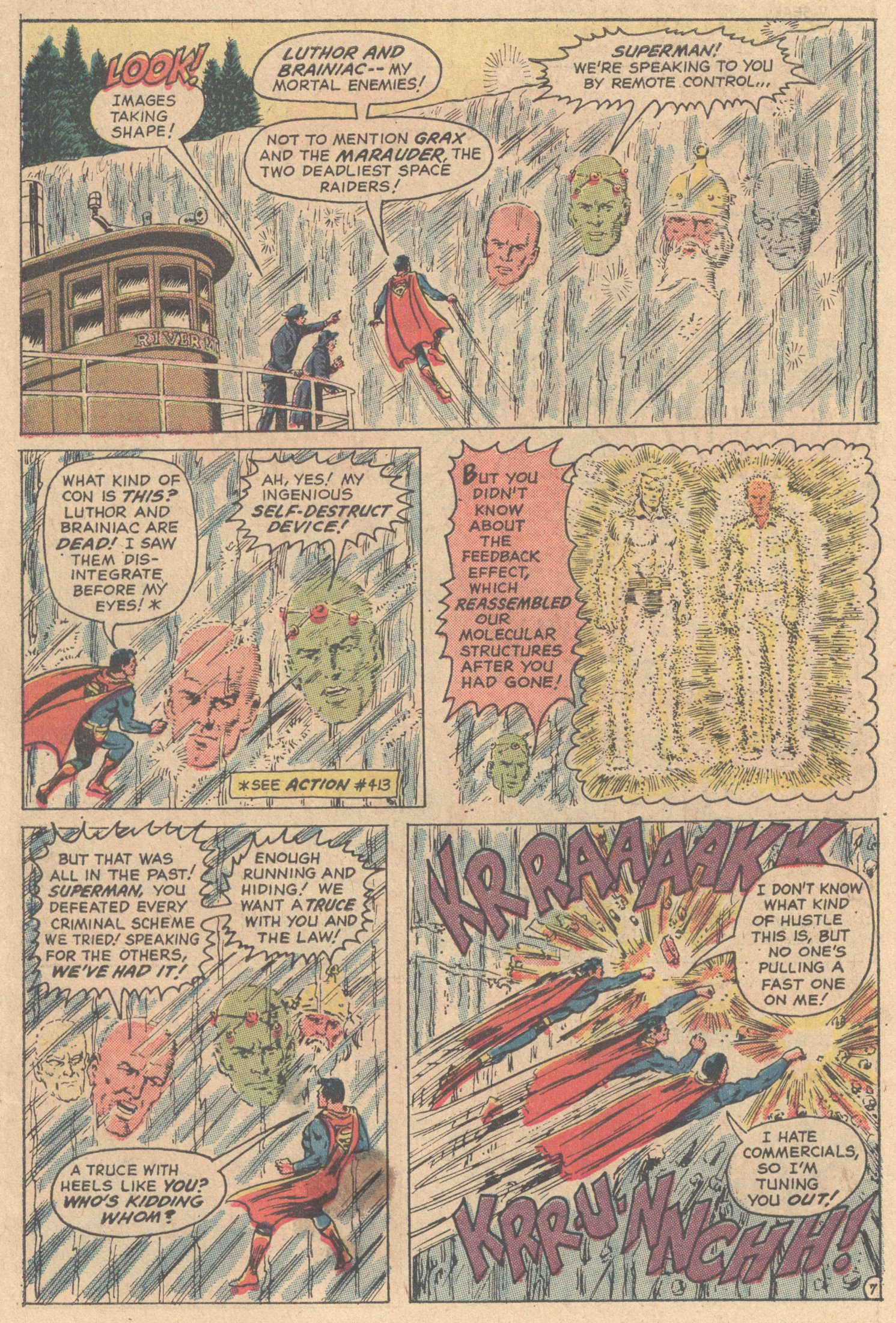 Read online Action Comics (1938) comic -  Issue #417 - 9