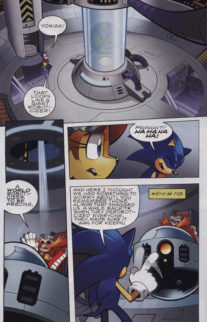 Read online Sonic the Hedgehog Free Comic Book Day Edition comic -  Issue # Special 6 - 13