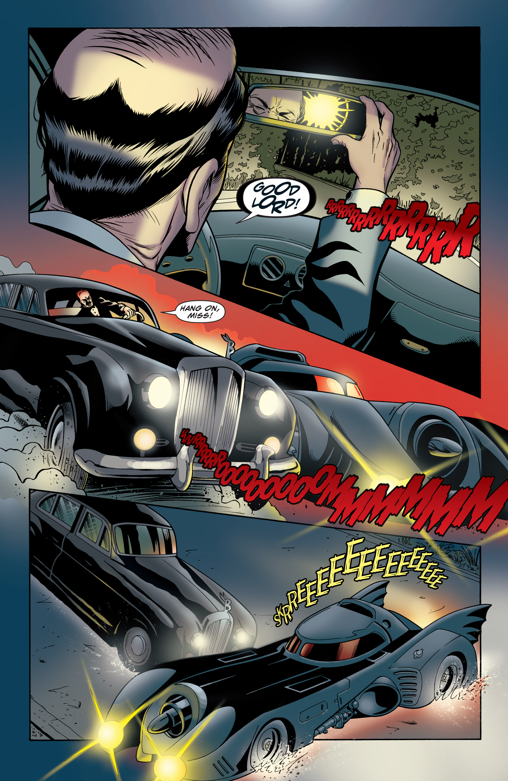 Read online Batman: The Widening Gyre comic -  Issue #6 - 16