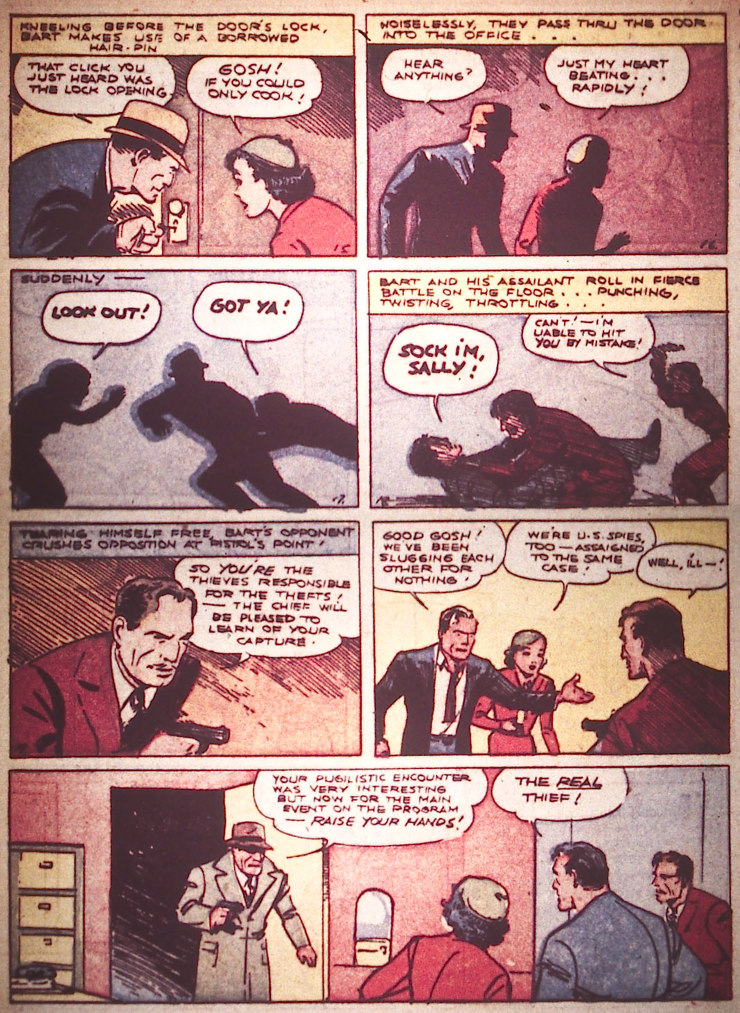 Read online Detective Comics (1937) comic -  Issue #16 - 38
