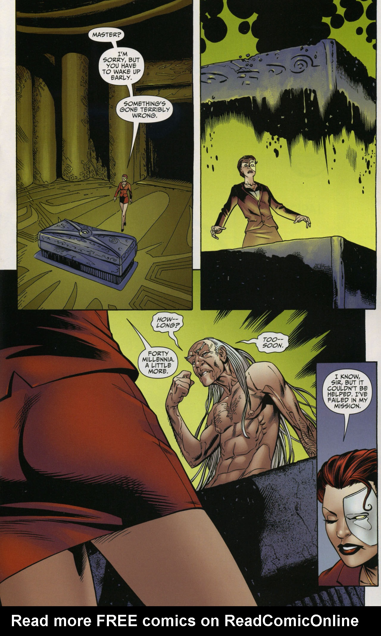 Read online Shadowpact comic -  Issue #5 - 10
