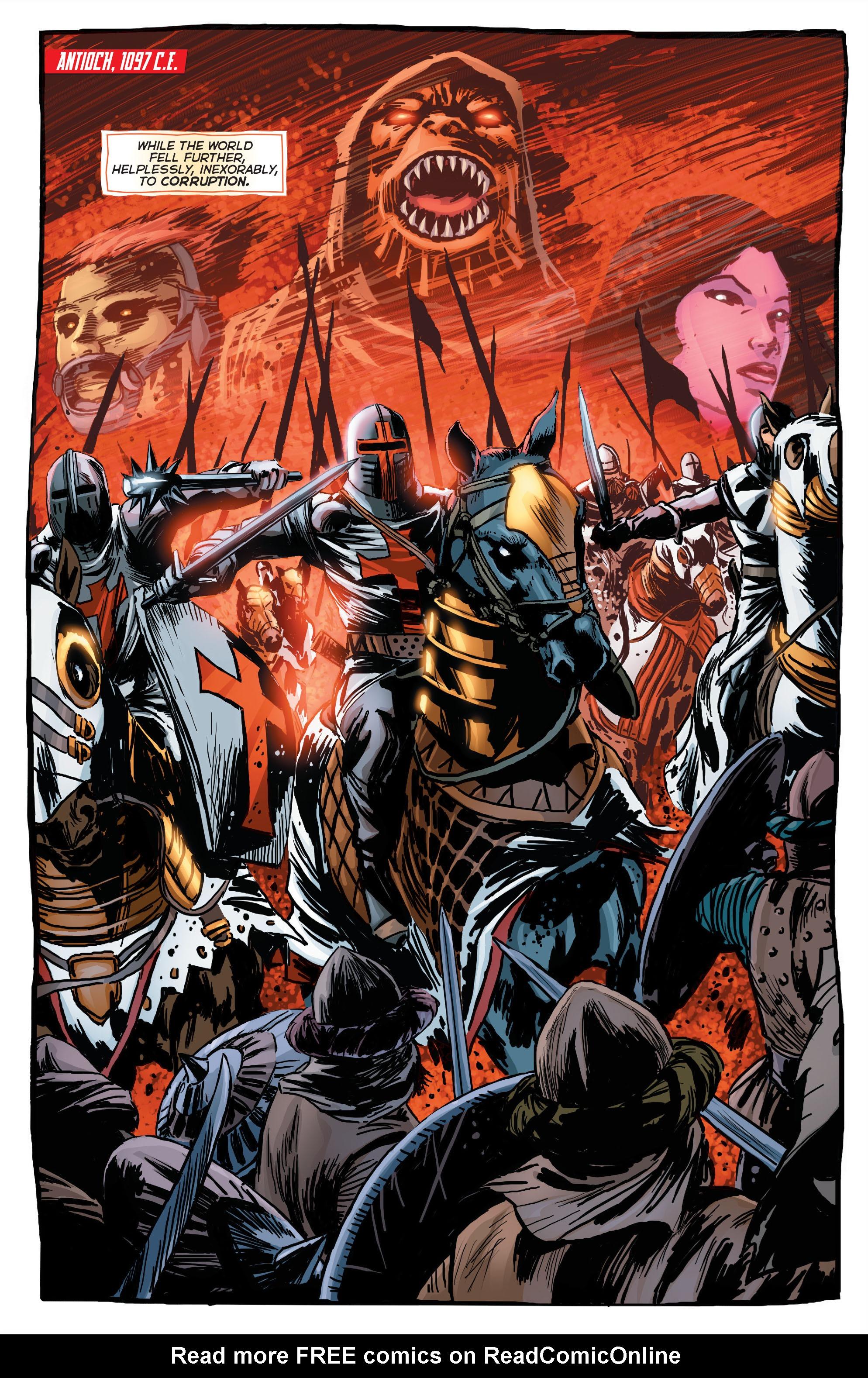 Read online Trinity of Sin: Pandora comic -  Issue #1 - 13