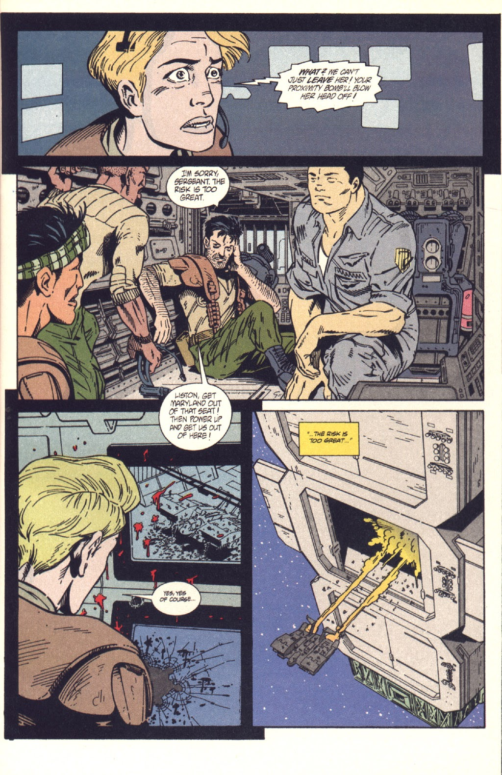 Read online Aliens: Colonial Marines comic -  Issue #9 - 24