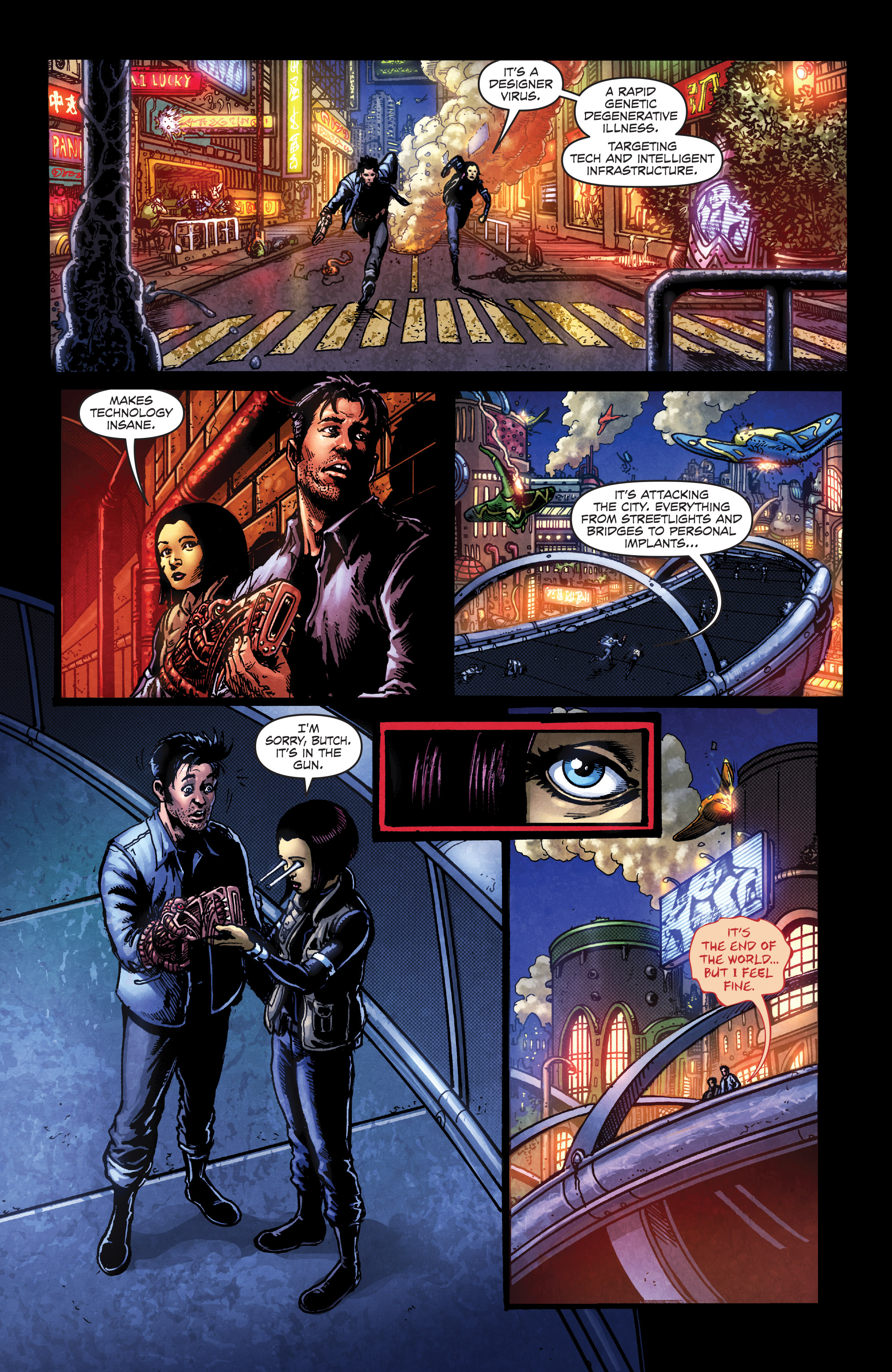 Read online Ballistic (2013) comic -  Issue #3 - 6