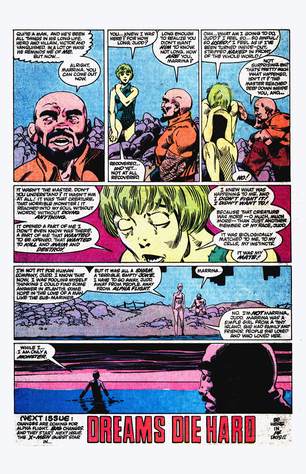 Read online Alpha Flight (1983) comic -  Issue #16 - 23