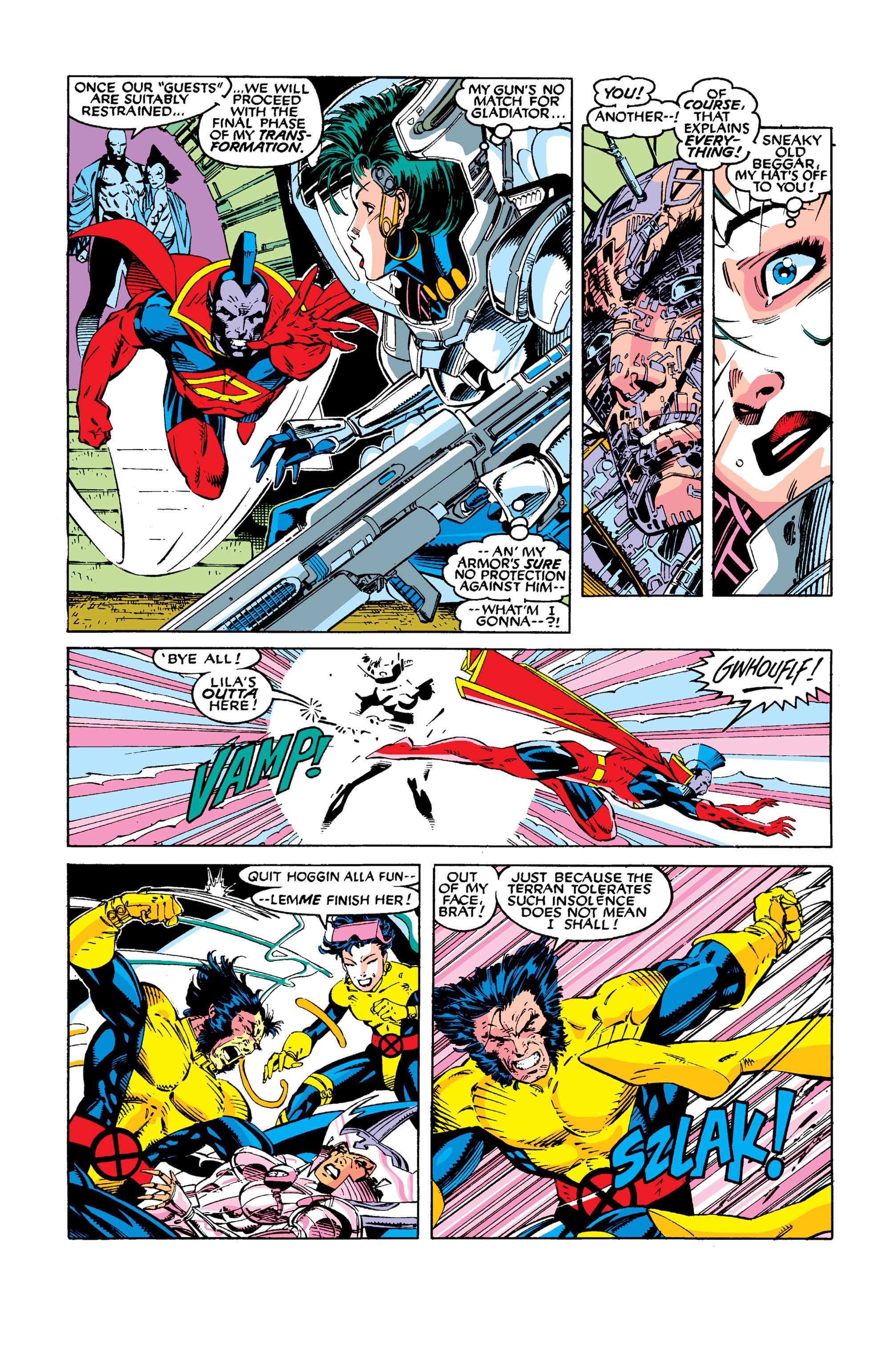 Read online Uncanny X-Men (1963) comic -  Issue #277 - 12