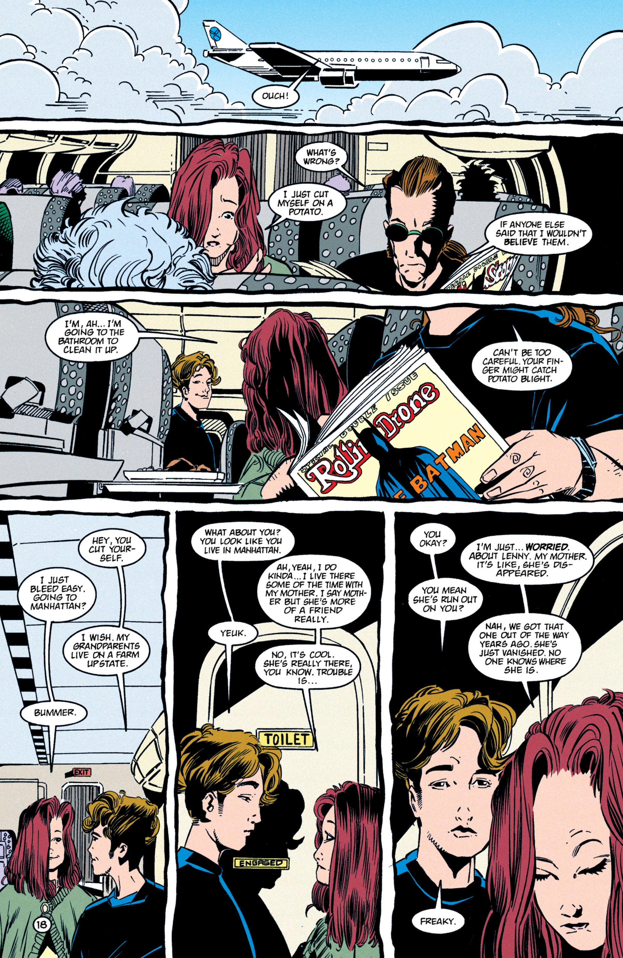 Read online Shade, the Changing Man comic -  Issue #59 - 19