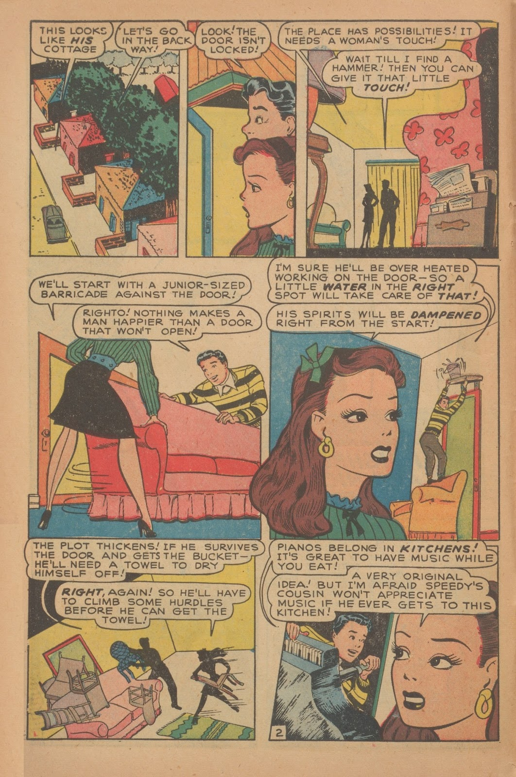 Read online Nellie The Nurse (1945) comic -  Issue #9 - 12