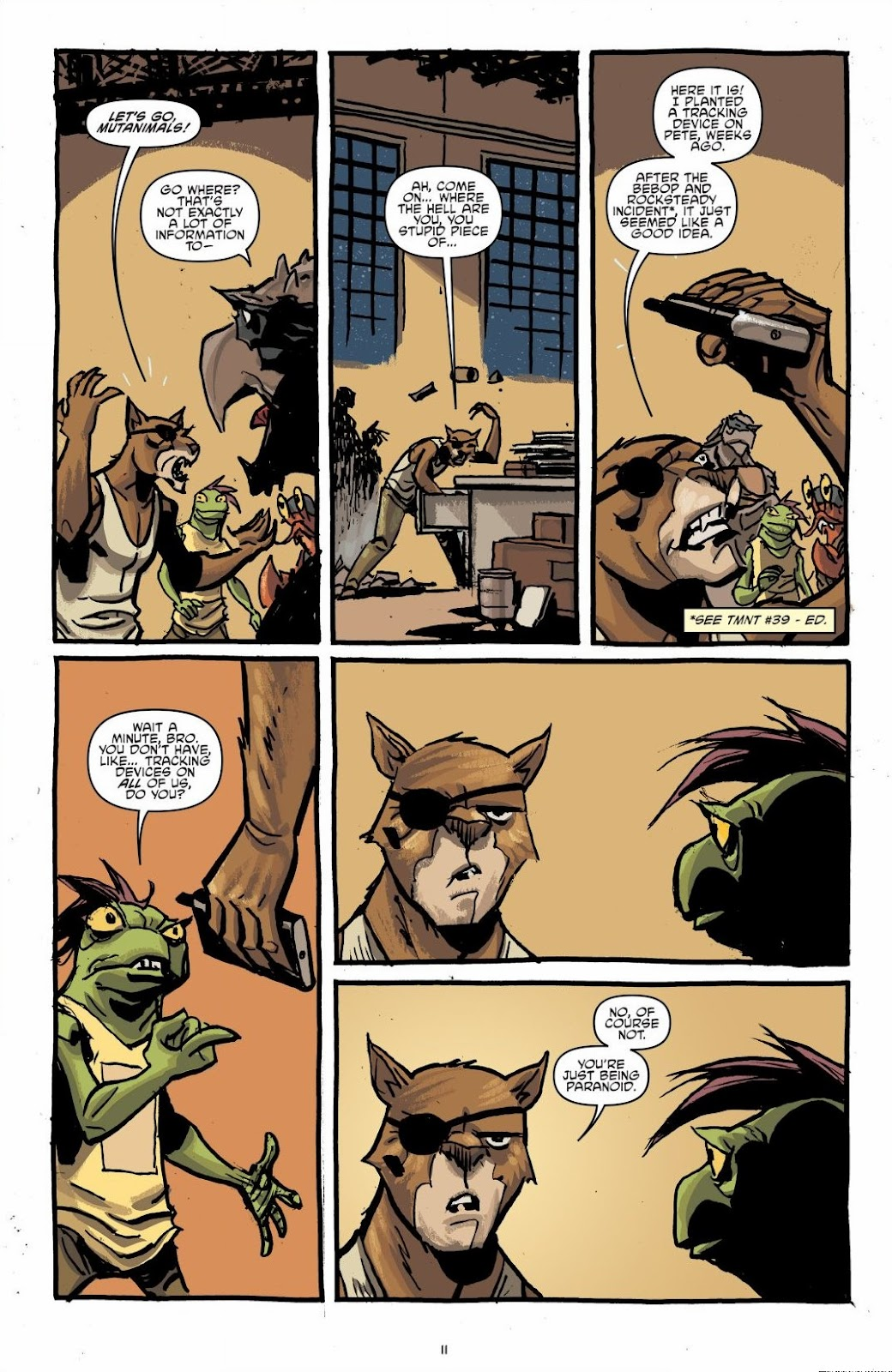 Read online Teenage Mutant Ninja Turtles: The IDW Collection comic -  Issue # TPB 6 (Part 1) - 10