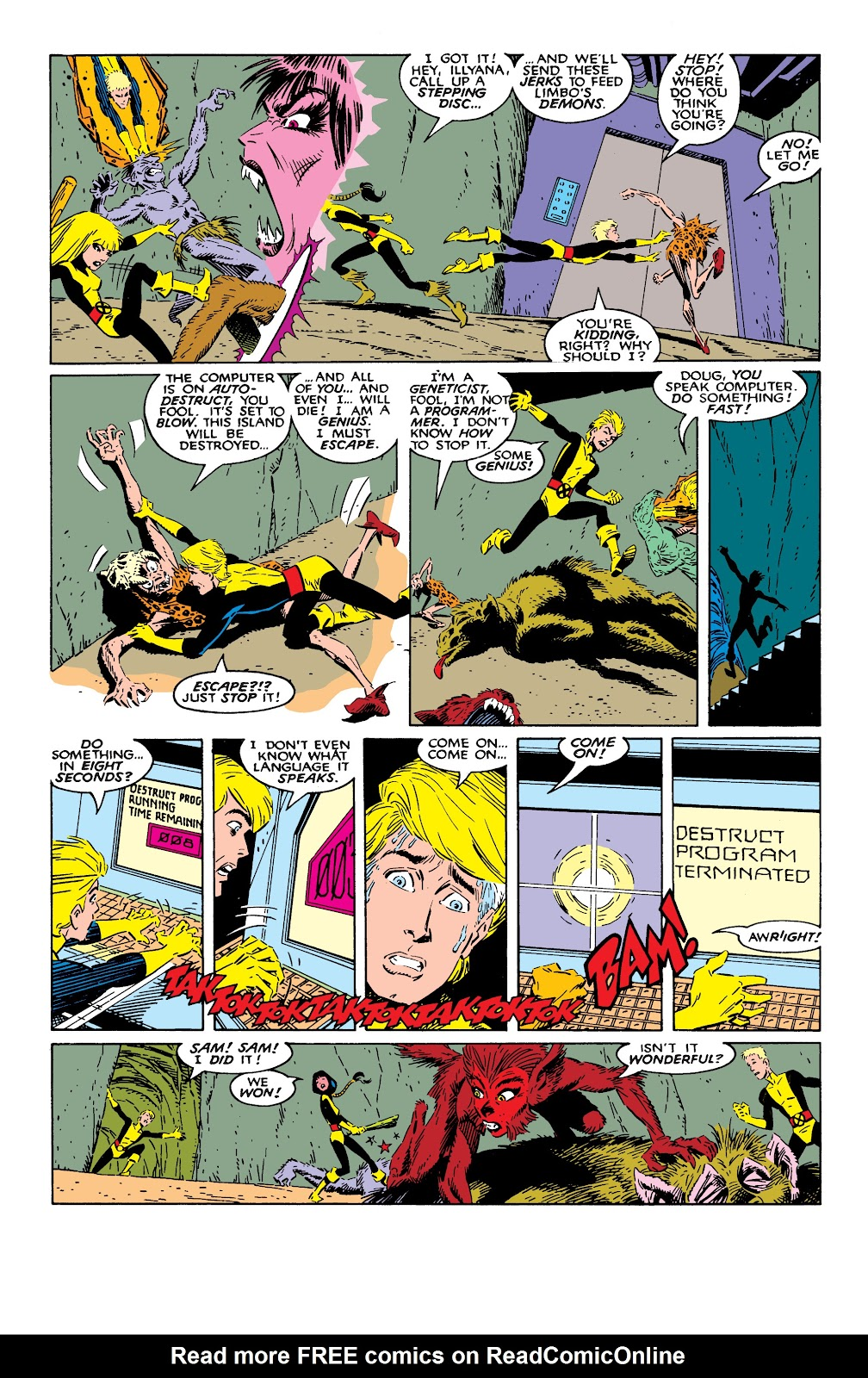 Read online X-Men Milestones: Fall of the Mutants comic -  Issue # TPB (Part 2) - 37
